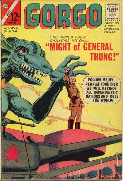 Gorgo #22 Comic Books - Covers, Scans, Photos  in Gorgo Comic Books - Covers, Scans, Gallery