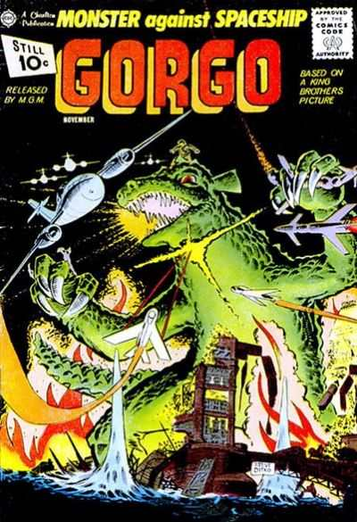 Gorgo #4 comic books - cover scans photos Gorgo #4 comic books - covers, picture gallery