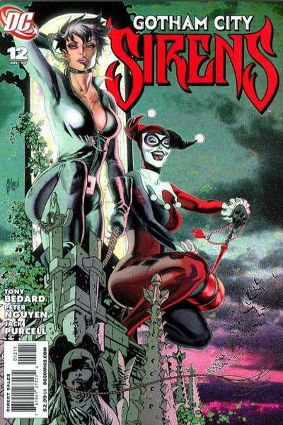 Gotham City Sirens #12 Comic Books - Covers, Scans, Photos  in Gotham City Sirens Comic Books - Covers, Scans, Gallery