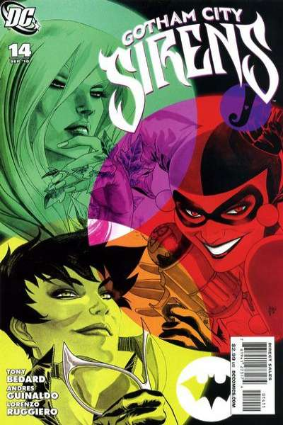 Gotham City Sirens #14 Comic Books - Covers, Scans, Photos  in Gotham City Sirens Comic Books - Covers, Scans, Gallery