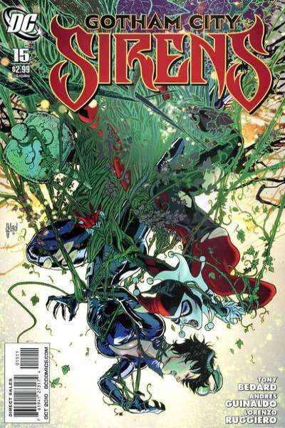 Gotham City Sirens #15 Comic Books - Covers, Scans, Photos  in Gotham City Sirens Comic Books - Covers, Scans, Gallery