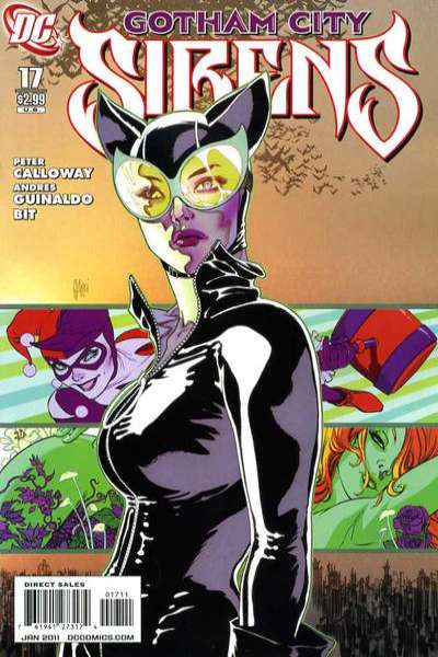 Gotham City Sirens #17 Comic Books - Covers, Scans, Photos  in Gotham City Sirens Comic Books - Covers, Scans, Gallery