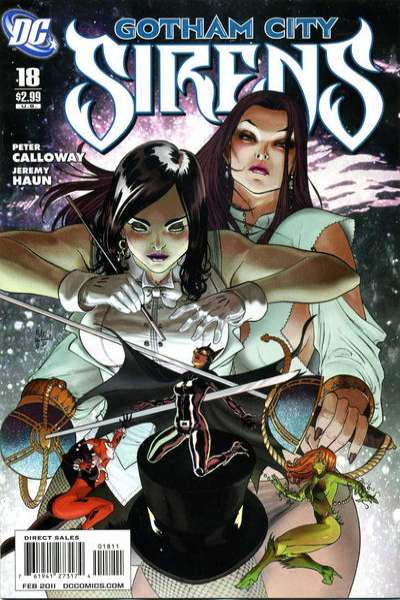 Gotham City Sirens #18 comic books for sale