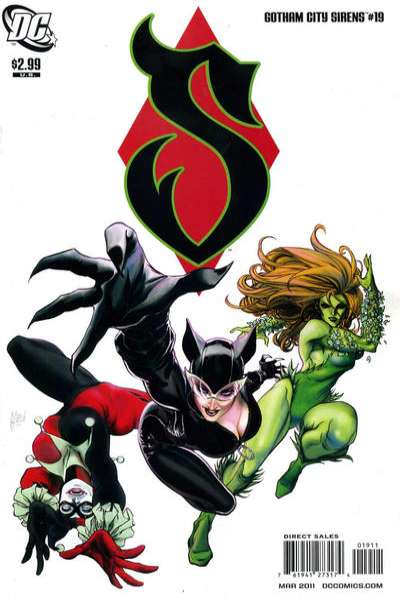 Gotham City Sirens #19 comic books for sale