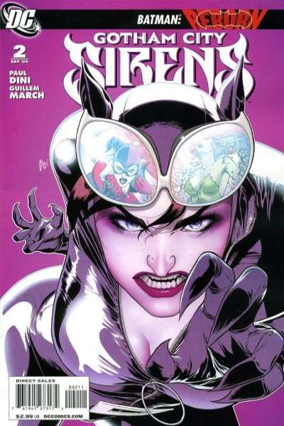 Gotham City Sirens #2 Comic Books - Covers, Scans, Photos  in Gotham City Sirens Comic Books - Covers, Scans, Gallery