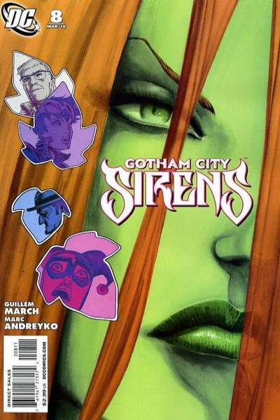 Gotham City Sirens #8 Comic Books - Covers, Scans, Photos  in Gotham City Sirens Comic Books - Covers, Scans, Gallery
