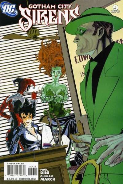 Gotham City Sirens #9 Comic Books - Covers, Scans, Photos  in Gotham City Sirens Comic Books - Covers, Scans, Gallery