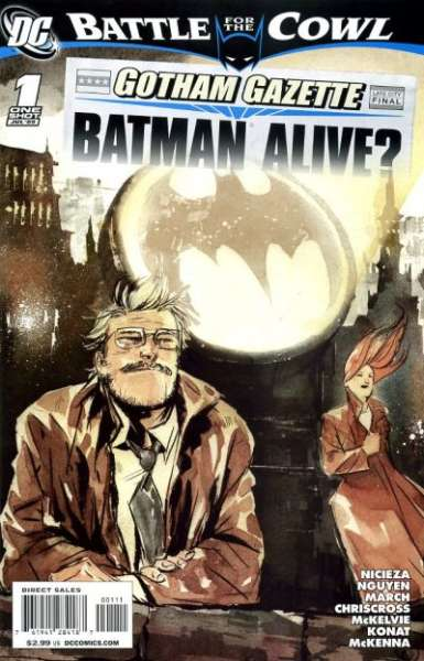 Gotham Gazette: Batman Alive? #1 comic books - cover scans photos Gotham Gazette: Batman Alive? #1 comic books - covers, picture gallery