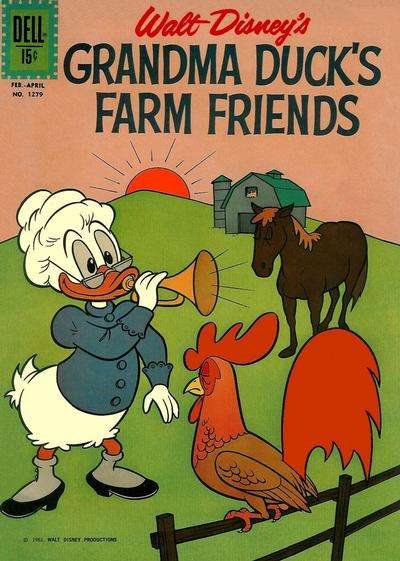 Grandma Duck's Farm Friends #8 comic books - cover scans photos Grandma Duck's Farm Friends #8 comic books - covers, picture gallery