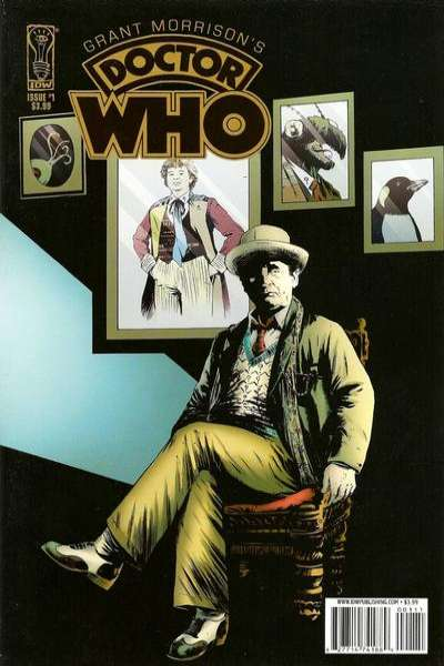 Grant Morrison's Doctor Who comic books