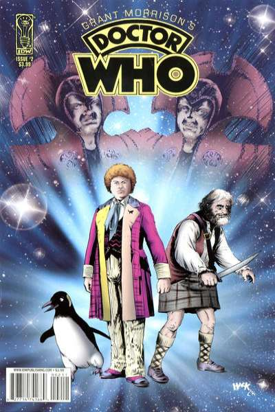 Grant Morrison's Doctor Who #2 Comic Books - Covers, Scans, Photos  in Grant Morrison's Doctor Who Comic Books - Covers, Scans, Gallery