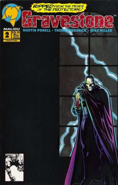 Gravestone #2 comic books - cover scans photos Gravestone #2 comic books - covers, picture gallery