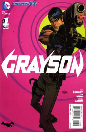 Grayson Comic Books. Grayson Comics.