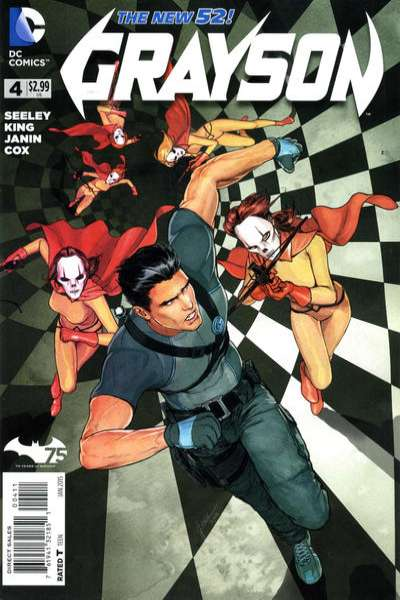 Grayson #4 Comic Books - Covers, Scans, Photos  in Grayson Comic Books - Covers, Scans, Gallery