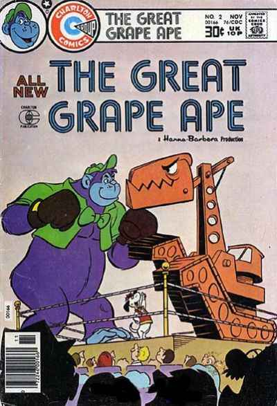 Great Grape Ape #2 Comic Books - Covers, Scans, Photos  in Great Grape Ape Comic Books - Covers, Scans, Gallery