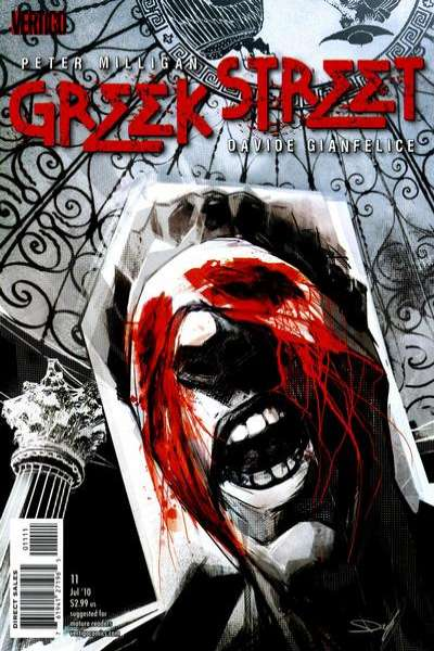 Greek Street #11 comic books - cover scans photos Greek Street #11 comic books - covers, picture gallery