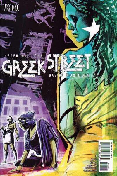 Greek Street #8 Comic Books - Covers, Scans, Photos  in Greek Street Comic Books - Covers, Scans, Gallery