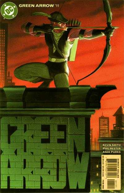 Green Arrow #11 comic books - cover scans photos Green Arrow #11 comic books - covers, picture gallery