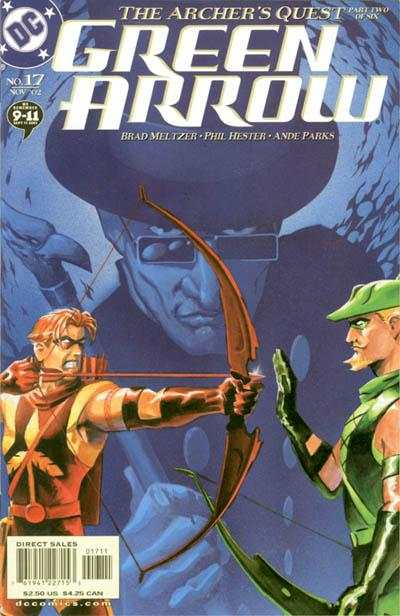 Green Arrow #17 comic books - cover scans photos Green Arrow #17 comic books - covers, picture gallery