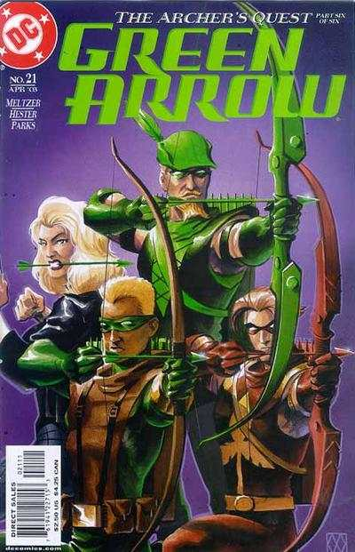 Green Arrow #21 comic books - cover scans photos Green Arrow #21 comic books - covers, picture gallery