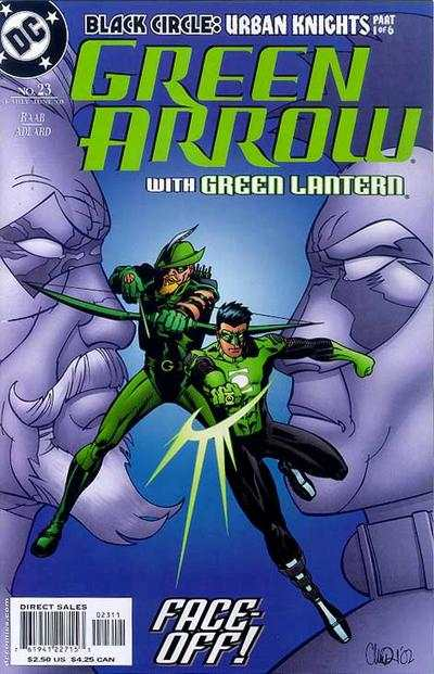 Green Arrow #23 comic books - cover scans photos Green Arrow #23 comic books - covers, picture gallery