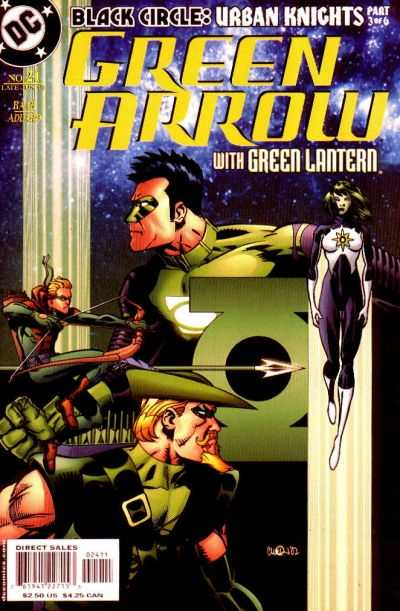 Green Arrow #24 comic books - cover scans photos Green Arrow #24 comic books - covers, picture gallery