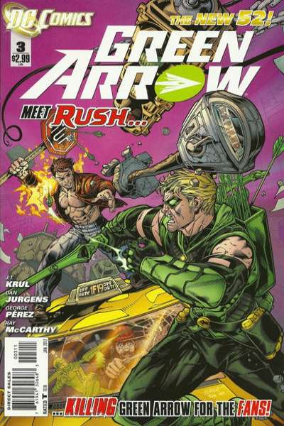 Green Arrow #3 Comic Books - Covers, Scans, Photos  in Green Arrow Comic Books - Covers, Scans, Gallery
