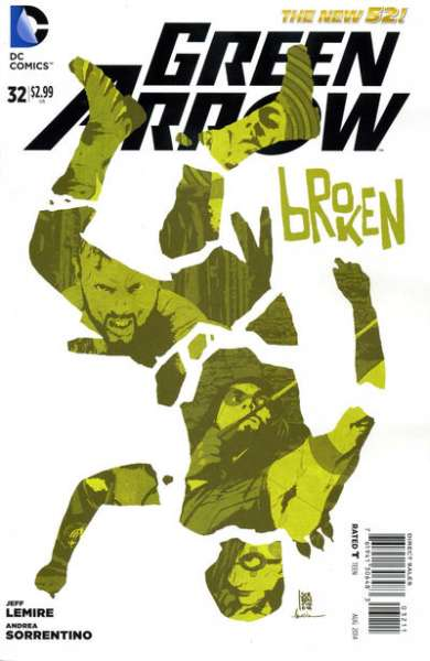 Green Arrow #32 comic books - cover scans photos Green Arrow #32 comic books - covers, picture gallery