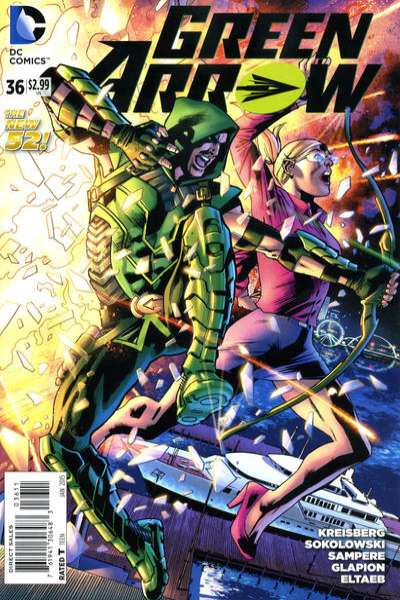 Green Arrow #36 comic books for sale