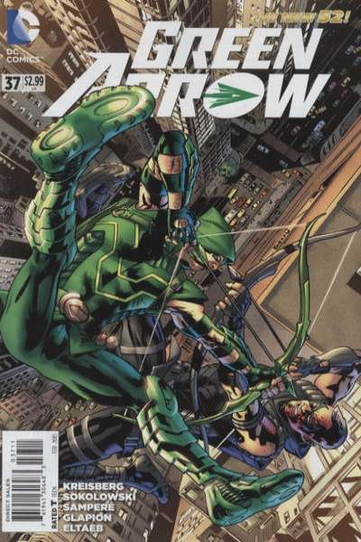 Green Arrow #37 comic books for sale