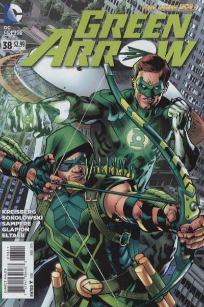 Green Arrow #38 comic books for sale