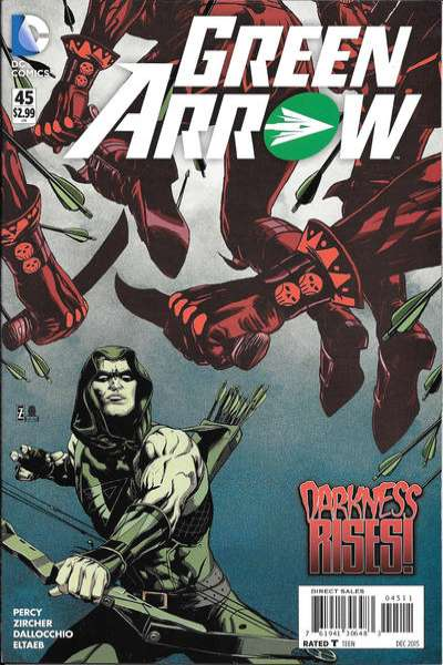 Green Arrow #45 comic books for sale