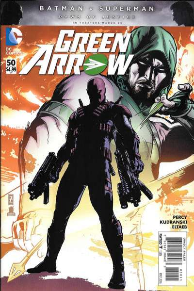 Green Arrow #50 comic books for sale