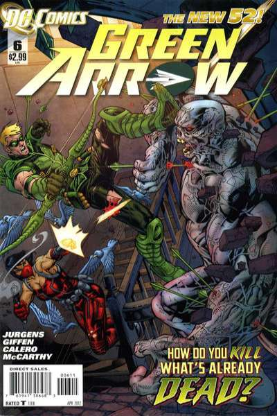Green Arrow #6 Comic Books - Covers, Scans, Photos  in Green Arrow Comic Books - Covers, Scans, Gallery