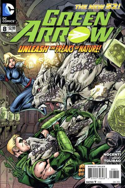 Green Arrow #8 Comic Books - Covers, Scans, Photos  in Green Arrow Comic Books - Covers, Scans, Gallery