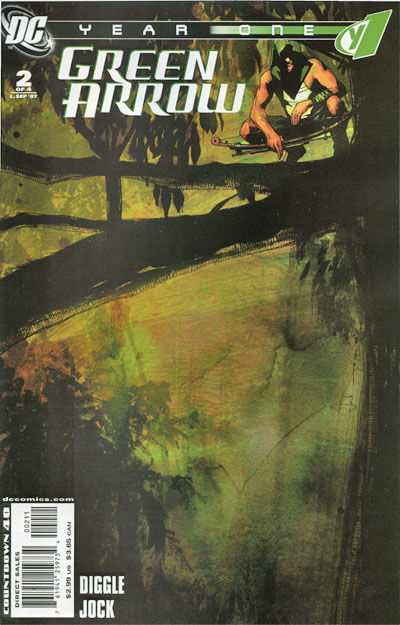 Green Arrow: Year One #2 Comic Books - Covers, Scans, Photos  in Green Arrow: Year One Comic Books - Covers, Scans, Gallery