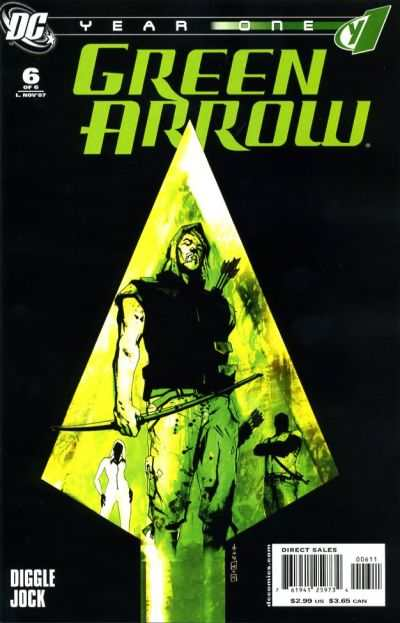 Green Arrow: Year One #6 Comic Books - Covers, Scans, Photos  in Green Arrow: Year One Comic Books - Covers, Scans, Gallery