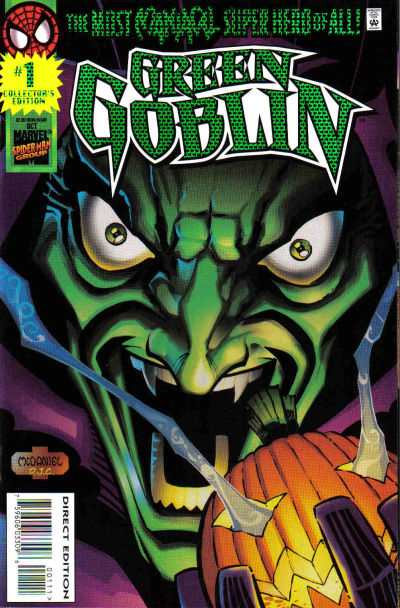 Green Goblin #1 comic books - cover scans photos Green Goblin #1 comic books - covers, picture gallery