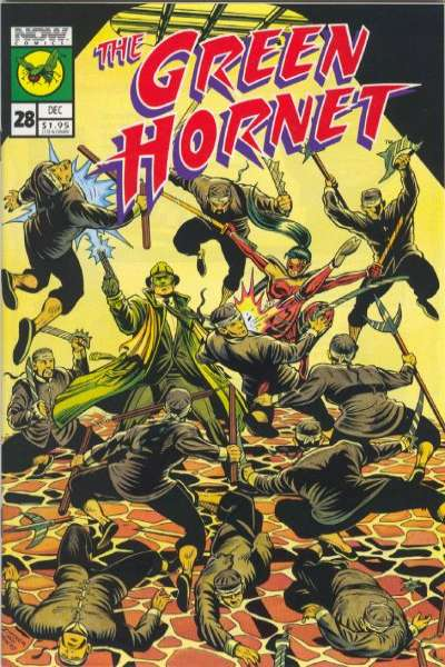 Green Hornet #28 comic books for sale