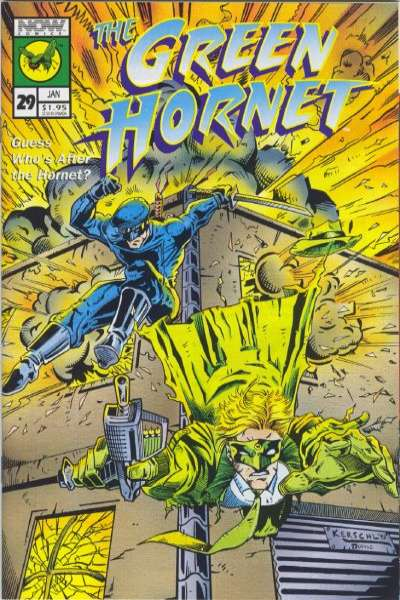 Green Hornet #29 Comic Books - Covers, Scans, Photos  in Green Hornet Comic Books - Covers, Scans, Gallery