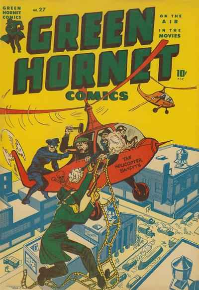 Green Hornet Comics #27 Comic Books - Covers, Scans, Photos  in Green Hornet Comics Comic Books - Covers, Scans, Gallery