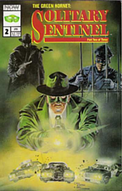 Green Hornet: Solitary Sentinel #2 comic books - cover scans photos Green Hornet: Solitary Sentinel #2 comic books - covers, picture gallery