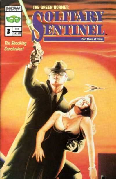 Green Hornet: Solitary Sentinel #3 comic books - cover scans photos Green Hornet: Solitary Sentinel #3 comic books - covers, picture gallery