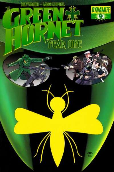 Green Hornet: Year One #4 comic books for sale