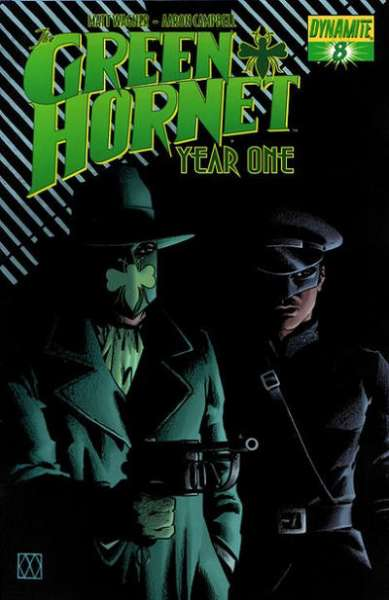 Green Hornet: Year One #8 comic books for sale