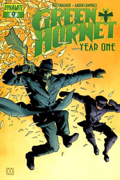 Green Hornet: Year One #9 comic books for sale