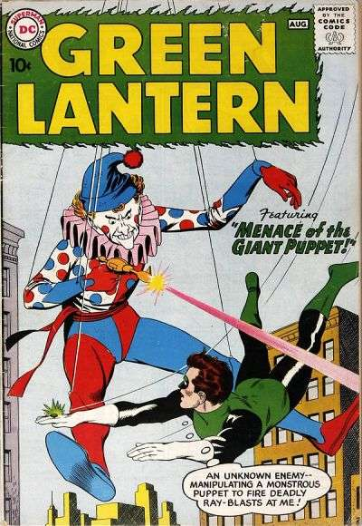 Green Lantern #1 Comic Books - Covers, Scans, Photos  in Green Lantern Comic Books - Covers, Scans, Gallery