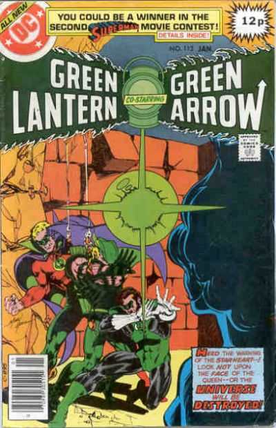 Green Lantern #112 comic books - cover scans photos Green Lantern #112 comic books - covers, picture gallery