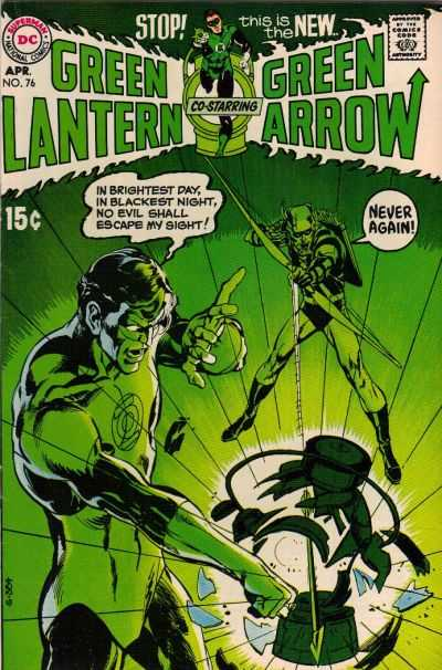 Green Lantern comic books
