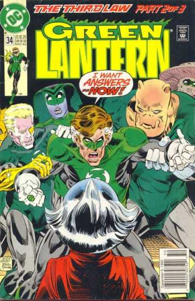Green Lantern #34 comic books for sale